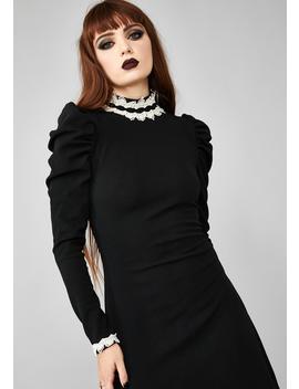 Heathen In Disguise Mini Dress by Widow