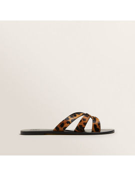 Emma Leather Slide by Seed Heritage
