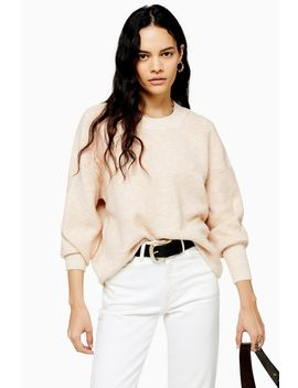 Oat Super Soft Jumper by Topshop