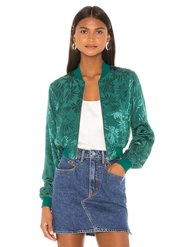 Roxy Bomber In Green by Privacy Please