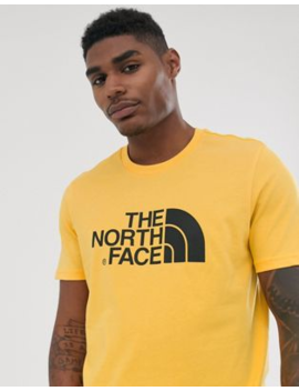 The North Face – Easy – Gelbes T Shirt by Asos