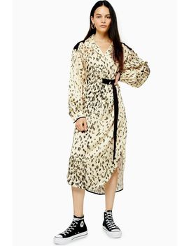 **Animal Smock Dress By Boutique by Topshop