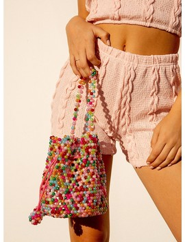 Abbey Beaded Pouch Bag by Princess Polly