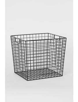 Large Metal Storage Basket by H&M