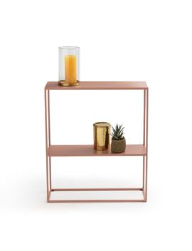 Hiba Compact Metal Console Table by La Redoute Interieurs
