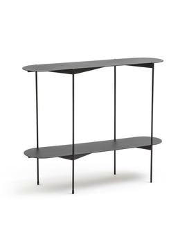 Oblone Metal Console Table by La Redoute Interieurs