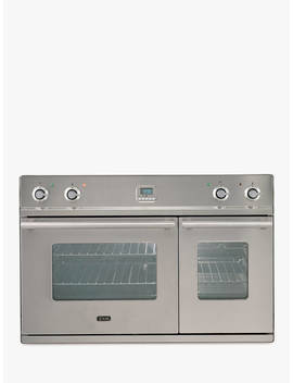 Ilve Roma D900 We3/I 90cm Double Built In Electric Oven, A Energy Rating, Stainless Steel by Ilve