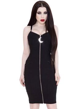 Darklands [Black]   Midi Dress by Killstar