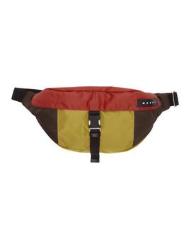 Mulitcolor Oversized Belt Bag by Marni