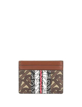 Monogram Stripe Cardholder by Burberry