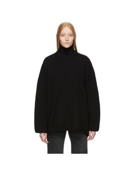 Black Noma Sweater by TotÊme