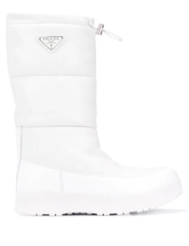 Padded Moon Boots by Prada