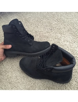 All Black Timbs   Nwt by Timberland
