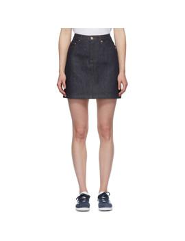 Indigo Standard Miniskirt by A.P.C.