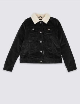 Cord Trucker Jacket (3 16 Years) by Marks & Spencer