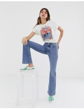 Wrangler   T Shirt Con Logo E Stampa Western by Wrangler