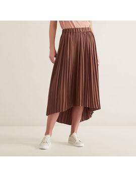 Hi Lo Pleated Skirt by Seed Heritage