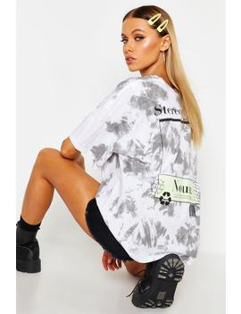 Stereotypical Tie Dye Graphic T Shirt by Boohoo
