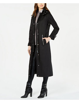 Maxi Hooded Raincoat by General