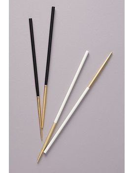 Color Dipped Chopsticks by Anthropologie