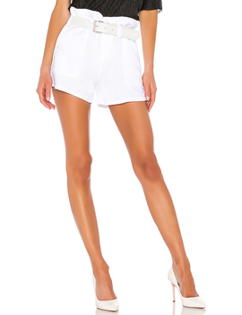 Saint Short In Optic White 6 by Rt A