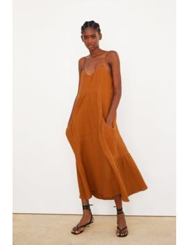 Vestido Textura Ver Todo Vestidos Trf by Zara