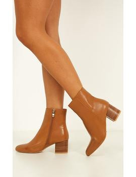 Billini   Kaiya Boots In Tan by Showpo Fashion