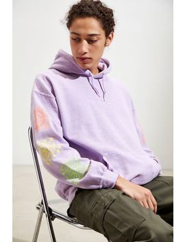 Accept The Mystery Pigment Dye Hoodie Sweatshirt by Urban Outfitters