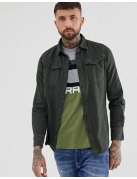 G Star Arc Slim Fit Shirt In Grey by G Star