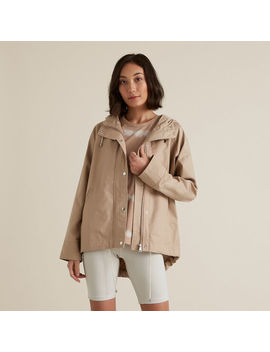 Soft Cropped Parka by Seed Heritage