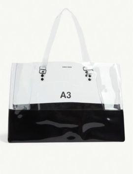 A3 Transparent Pvc Tote Bag by Nana Nana