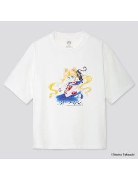 Damen Ut Bedrucktes T Shirt Sailor Moon by Uniqlo