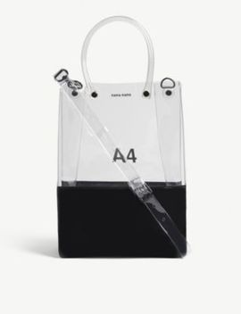 A4 Transparent Pvc Tote Bag by Nana Nana