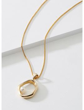 Hera Brass Necklace by Cadette