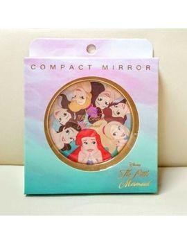 Disney Little Mermaid Ariel Sisters Compact Mirror 30th Anniversary New Japan by Sho Bi