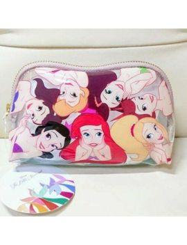 Disney Little Mermaid Ariel Sisters Cosmetic Pouch 30th Anniversary New Japan by Sho Bi