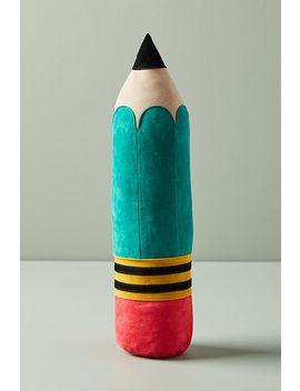 Velvet Pencil Doorstop by Anthropologie