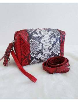 Python Makeup Pouch by Etsy