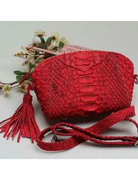 Guava Python Mini Bag by Etsy