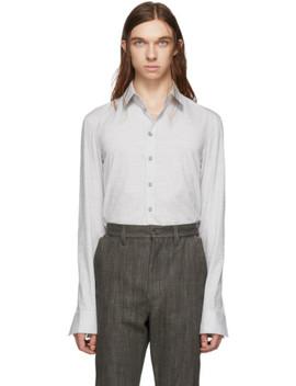 Grey Classic Shirt by Deepti
