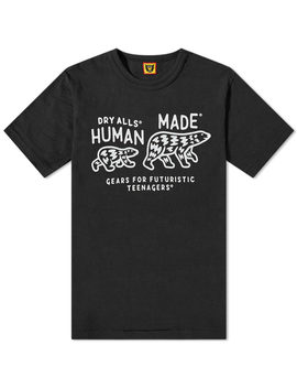 Human Made Bear Patch Tee by Human Made