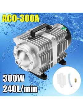 300 W Ac 220 V 240 L/Min Air Compressor Aco 300 A 0.04 Mpa Electromagnetic Aquarium Pump Oxygen Aquarium Fish Pond Compressor by Ali Express.Com
