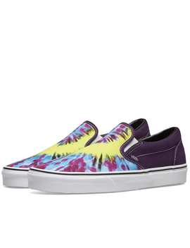 Vans Ua Classic Slip On Tie Dye by Vans