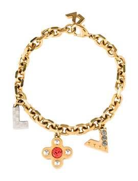 Crystal Love Letter Timeless Bracelet by Louis Vuitton