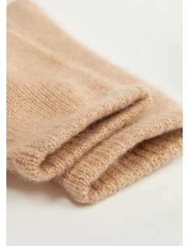 100% Cashmere Gloves by Mango