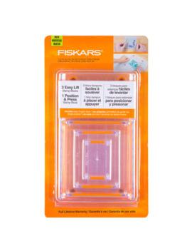 Fiskars Easy Lift Stamp Block Set by Hobby Lobby