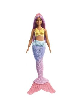 Barbie Dreamtopia Mermaid Doll With Long Purple Streaked Hair by Barbie