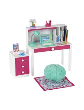 "My Life As Desk Play Set For 18"" Dolls, 24 Pieces by My Life As"