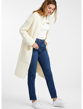 Textured Knit Loose Cardigan by Contemporaine