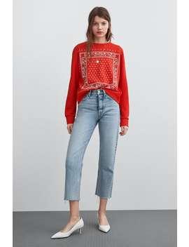 Front Print Sweatshirt Sweatshirtssale Woman by Zara